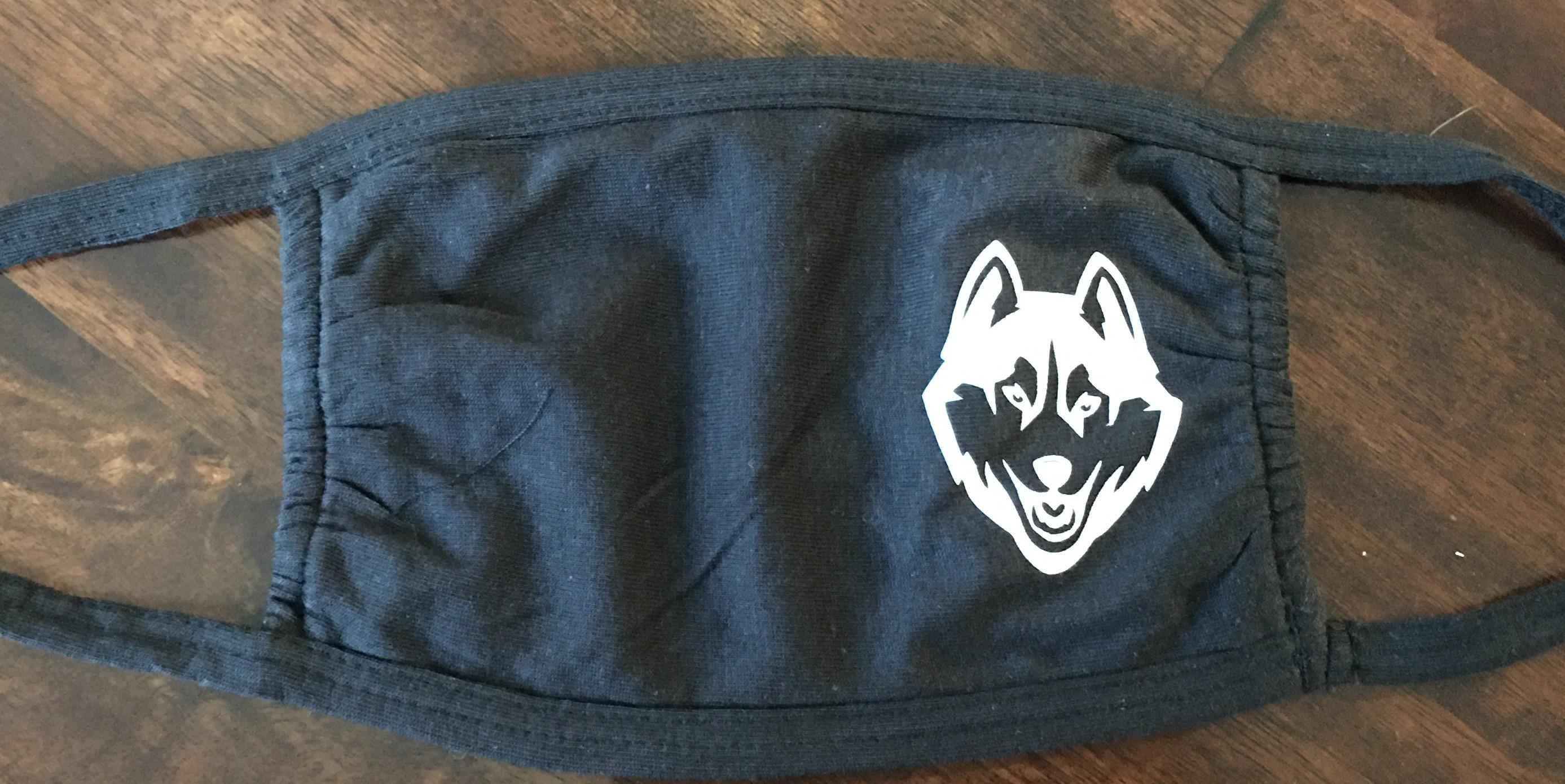 Mask - Adult Size - Husky Logo